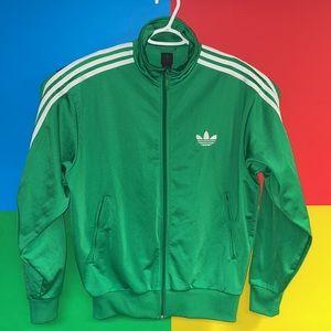 Adidas Classic Trefoil Track Jacket Size Large